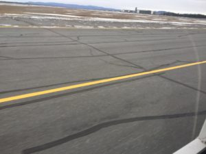 The runway tar problem