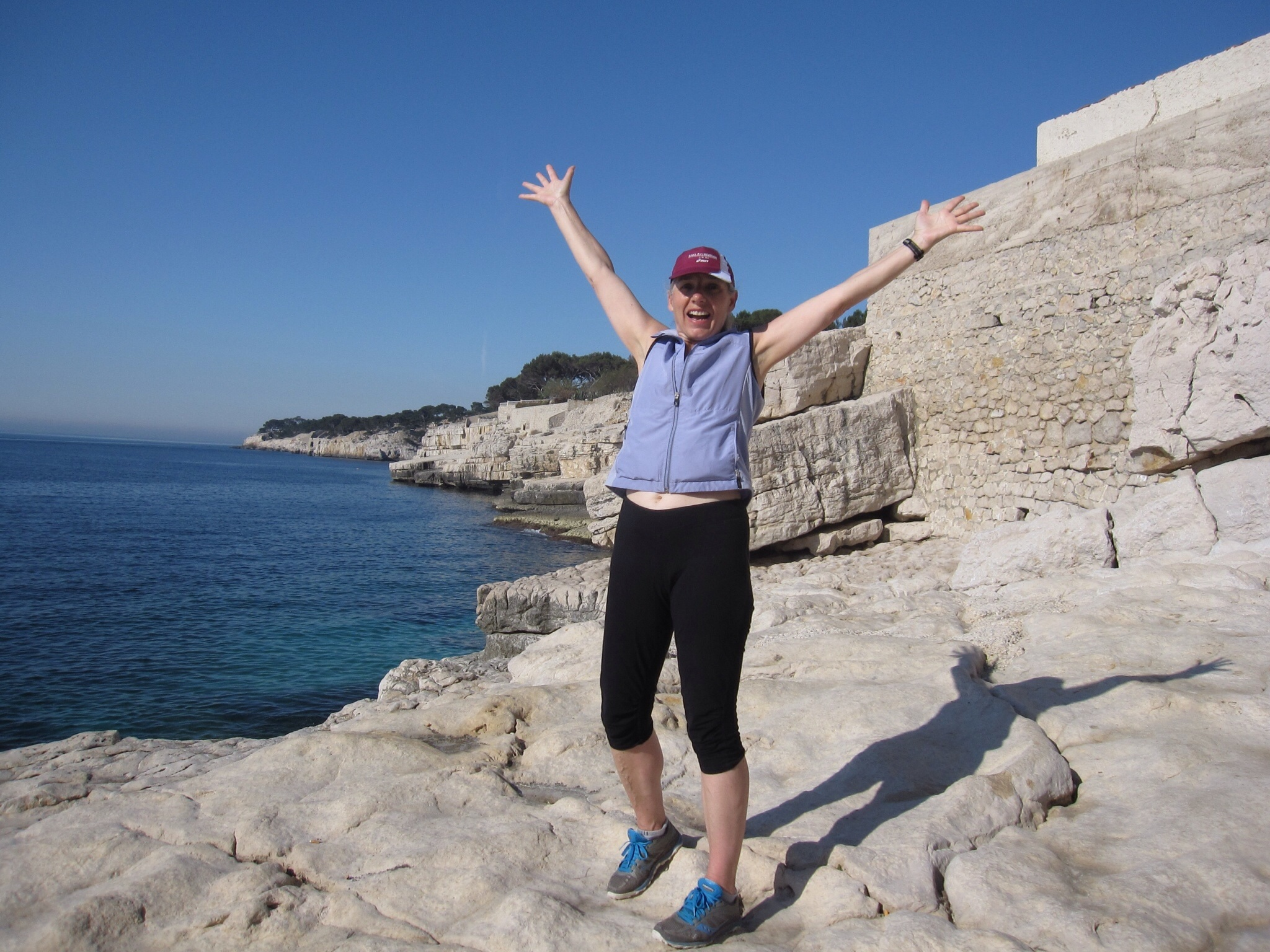 Running the Calanques, Cassis, France